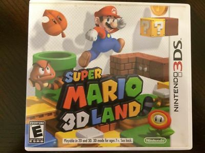 Super Mario 3D Land Nintendo 3DS Replacement Case Only