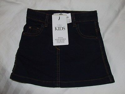 *NEW* Girls denim skirt M&S age 18-24 months BNWT