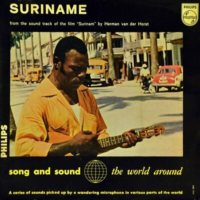 "7"" BIG JONES & HIS KAWINA BAND Suriname OST HERMAN VAN DER HORST PHILIPS EP 1962"
