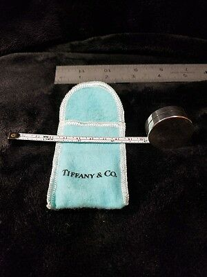 Tiffany & Co Sterling Silver 925 Measuring Tape