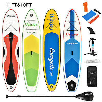 Inflatable Stand Up Paddle Board Non-Slip Deck Paddle Backpack Pump Repair Kit