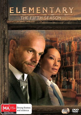 Elementary : Season 5 (DVD, 6-Disc Set) NEW