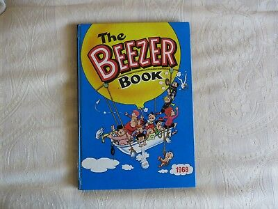 Beezer Annual 1968- Nice Condition