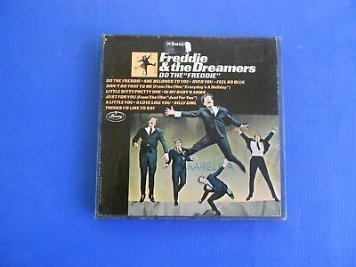FREDDIE AND THE DREAMERS - 4T - 3.75ips - REEL TO REEL TAPE - PLAY TESTED