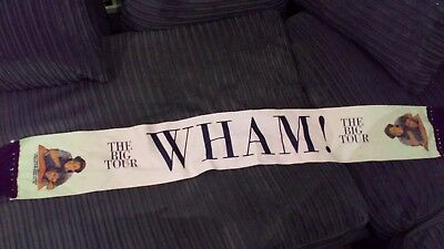 Wham The Big Tour Concert Scarf  George Michael