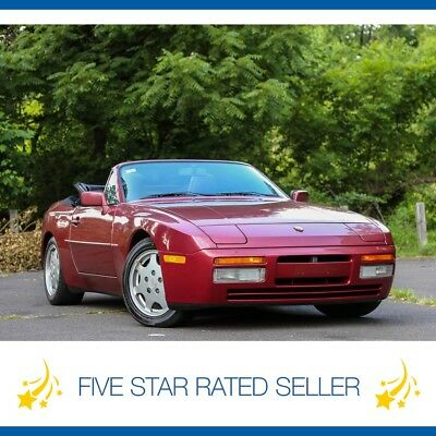 1990 Porsche 944 S2 Convertible 5SP Manual 63K mi CARFAX 1990 Porsche 944 S2 Convertible 5SP Manual Super Low 63K mi CARFAX!