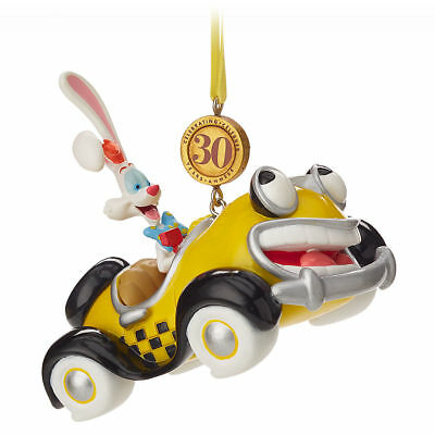 Disney Store Roger Rabbit Benny Cab Legacy 2018 Sketchbook Ornament Limited NEW