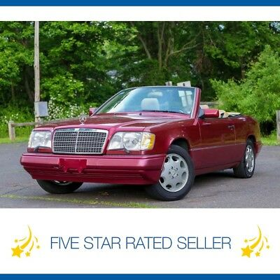 1995 Mercedes-Benz E-Class E320 Convertible Low 95K mi California  CARFAX 1995 Mercedes Benz E320 Convertible 95K California Video CARFAX!