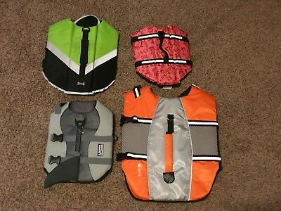 Dog Life Vest/Jacket Swimming Vest Variety Sizes and Colors