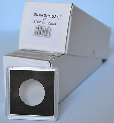 25 - 26.5mm GUARDHOUSE 2x2 TETRA PLASTIC SNAPLOCK COIN HOLDER for SMALL DOLLARS