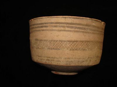 GOING OUT BUSINESS SALE!  ANCIENT PAINTED BOWL-JUG!  3000BC~~~no reserve