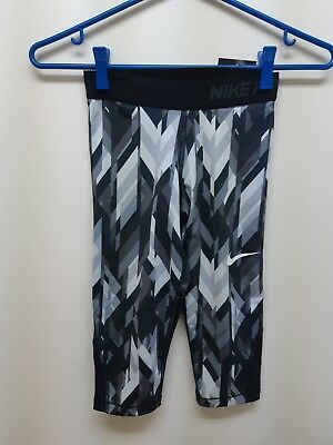 Nike Leggings (Girls) Active wear *Brand New* dri fit small abstract pattern