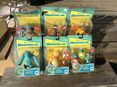 Monsters Inc. 2001 Action Figure Series