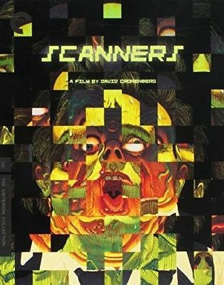 Scanners (The Criterion Collection) BLU-RAY NEW