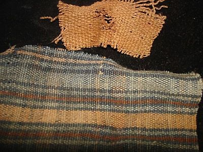 Amazing Cloth From Mummy  Pre-Columbian  1000Ad!  Wow Rare And Desirable