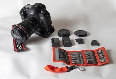 Canon 5D Mark III with Lens 22.3MP Digital SLR Camera 24-105 Amazing condition