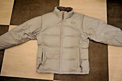 THE NORTH FACE Girl s 600 Down Warm Jacket Coat Light Blue Sz Large ... 6afa7cfd1