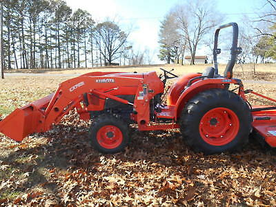 L4701D Kubota 4wd Tractor/Loader/Low Hours