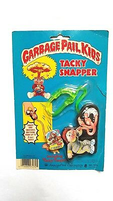 Vintage New 1985 Garbage Pail Kids Tacky Snapper Toy #5: Marty Mouthful Cards