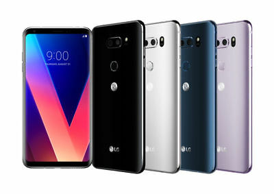 LG V30 H931 64GB Silver GSM Unlocked Phone A + Free 3 Months Service Plan SHDW