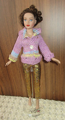 "OOAK FASHION - OUTFIT TONNER TINY KITTY 10""-   sweater - ~grazynaj61~"