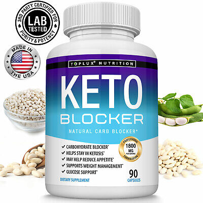 Keto Diet BLOCKER Pills 1200MG- Advanced Carb Ketosis Weight Loss Supplement