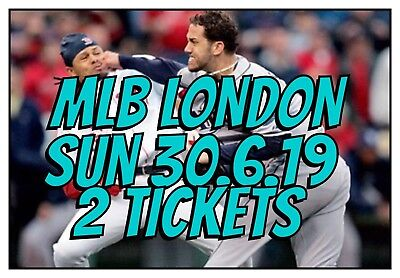 London Series MLB - 2 Tickets - New York Yankees vs. Boston Red Sox 30.6.19