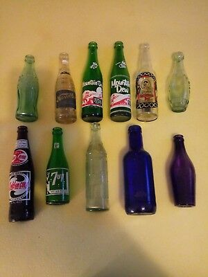 Lot Of 11 Old Vintage Rare Bottles. Bunch Of Goodies!