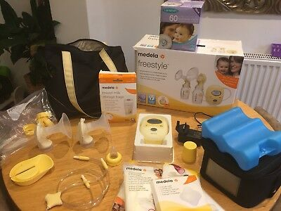 Medela Freestyle Double Electric Breast Pump Excellent Condition