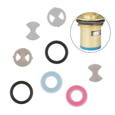 8 in 1 Ceramic Disc & Silicon Gasket Washer Insert Turn For Valve Tap