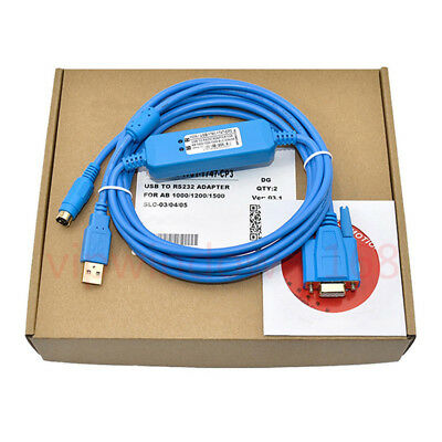 USB-1761-CBL-PM02 PLC Programming Cable for AB Series Micrologix 1000/1200/1500