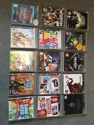 House Clearance Attic Find Rare Job Lot Bundle  Sony Ps3 Console Games