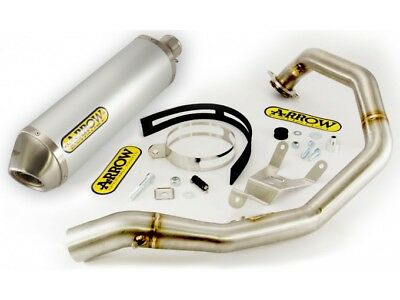 Kit Scarico Arrow Terminale AO + Collettore KTM Duke 690 '08/11
