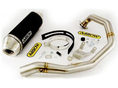 Kit Scarico Arrow Terminale AON + Collettore KTM Duke 690 '08/11