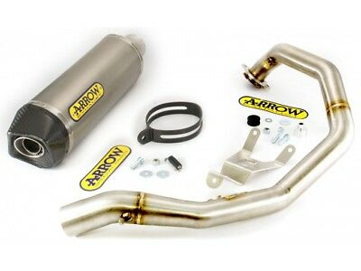 Kit Scarico Arrow Terminale PK + Collettore KTM Duke 690 '08/11