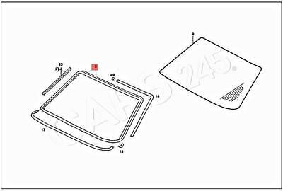 Genuine Mercedes C123 W123 Coupe Sealing frame 1236700439