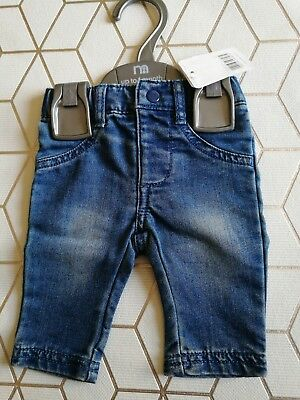 New Item Girls Jeans Up To 1 Month Mothercare