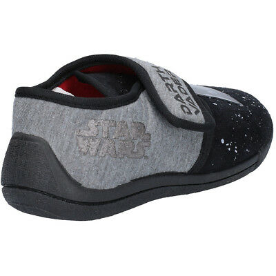 Leomil Boys Darth Vader Soft Touch Microfiber Slippers