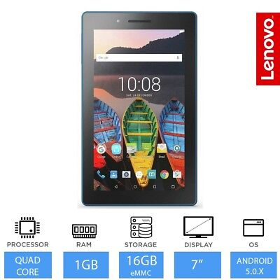 Tab 3 Essential- 7-inch Cheapest Lenovo Tablet, 16GB, Dual Camera,  Android 5.0