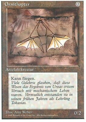 Ornithopter / Ornithopter   NM   4th Edition   GER   Magic MTG