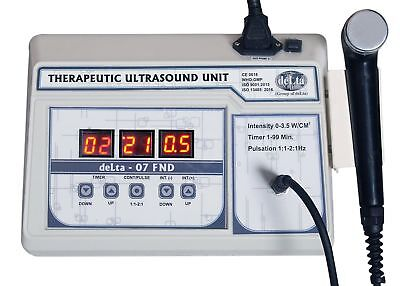1 Mhz Ultrasound Ultrasonic therapy for Pain Relief Machine Original FND FGKJ