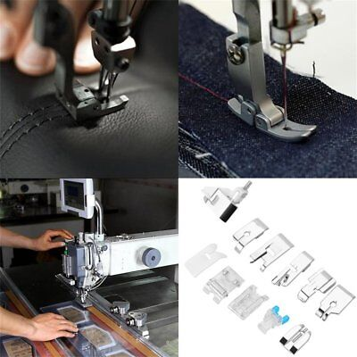 11Pcs/Set Presser Foot Feet For Brother Singer Janome Domestic Sewing Machine TM