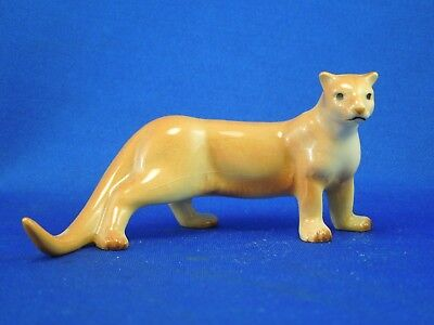 Hagen Renaker Standing Cougar Mountain Lion Puma Figurine on Base