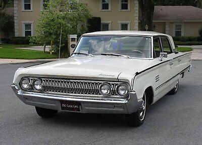 1964 Mercury MONTCLAIR BREEZEWAY SEDAN -  65K MI EXCELLENT LOW MILE SURVIVOR - 1964 Mercury Montclair Sedan - 65K MI