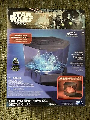 Disney Star Wars Science Lightsaber Crystal Growing Lab By Uncle Milton