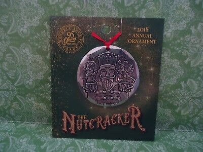 NUTCRACKER Ornament by WENDELL August FORGE 2018  Aluminum Holiday CHRISTMAS