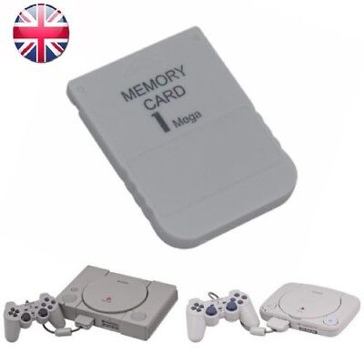 New 1MB Memory Card for PS1 Game Save Sony Playstation 1 & PS One