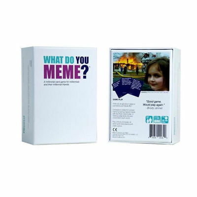 What Do You Meme? Funny Party Board Game Main Game Party Game UK Set
