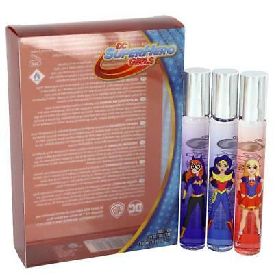 DC Super Hero Girls Roll On EDT Fragrance Gift Set