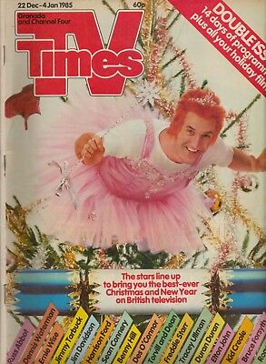 TV Times Christmas/New Year Double Issue 1985 - Treat yourself for Christmas